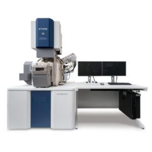 L'Hitachi Ethos FIB-SEM incorpora l'ultima generazione di FE-SEM con brillanza e stabilità del fascio eccellenti. Ethos offre immagini ad alta risoluzione a bassa tensione combinate con ottiche ioniche per una preparativa su scala nanometrica.