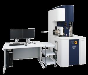 Il nuovo sistema FIB-SEM di Hitachi, l'NX9000, incorpora un layout ottimizzato per un vero e proprio sezionamento seriale ad alta risoluzione per affrontare le ultime richieste nell'analisi strutturale 3D e per le analisi TEM e 3DAP. Il sistema FIB-SEM NX9000 consente la massima precisione nella preparazione dei materiali per un'ampia gamma di settori come materiali avanzati, dispositivi elettronici, tessuti biologici e molte altre applicazioni.