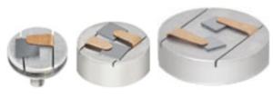 Portacampioni pin stub e cilindrici con clip piatte