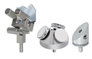 Vasta scelta di supporti per SEM, FESEM e FIB che utilizzano portacampionipin stub da 3.2mm