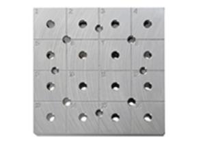 Supporti a cui agganciare più portacampioni pin stub quadrati e/o tondi