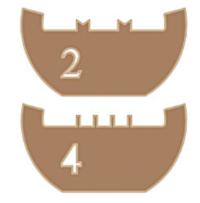 Queste griglie si adattano a tutti i supporti TEM standard e sono disponibili in rame (Cu), molibdeno (Mo) e silicio (Si).