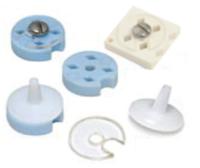 Contenitori utilizzati per conservare e trasferire campioni cryo in strumenti come FEI Vitrobot, Gatan CP3, Leica EM 6P...