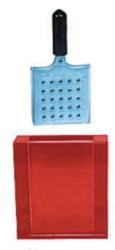 Sistema di colorazione per un massimo di 25 griglie (con marcatura alfa numerica): riduce i danni meccanici garantisce tempi di colorazione e risciacquo uguali