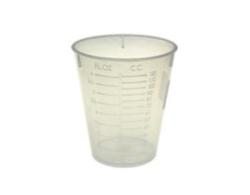 Bicchieri graduati per la miscelazione di componenti, particolarmante utili per miscelare la resina epossidica
