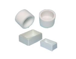 Diversi stampi riutilizzabili per embedding: silicone, plastica, tondi e quadrati