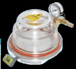 Prodotto per poter  riscaldare in  modo efficace il campione durante il processo di inclusione della plastica nella fase di rimozione delle bolle di gas