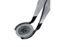 Gripper per AFM con punte rivestite per il prelievo di dischi AFM / STM. Disponibili per tutti i diametri di dischi