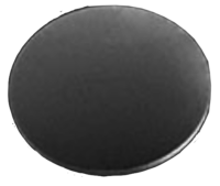 Dischi in silicio da 3 mm con uno strato di nitruro di silicio a bassissimo stress 50nm (Si3N4) su entrambi i lati e possono essere utilizzati come dischi per campioni per applicazioni AFM