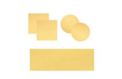 Vetrini e copioggetto rivestiti con 50nm di oro. Utili nelle applicazioni di nanotecnologiche, biotecnologiche e AFM.