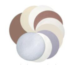 Una selezione di tessuti per lucidatura di alta qualità per la lucidatura grossolana e fine di materiali duri, morbidi e compositi. La maggior parte dei tessuti sono disponibili con supporto semplice o PSA per un facile montaggio sui dischi di lucidatura