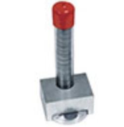 I tubi di plastica in cui sono inseriti i dischi possono essere inseriti nel PELCO® Diskpenser. Con un giro del cilindro viene erogato un disco, pronto per essere prelevato con la PELCO® Disc Gripper