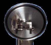 """Il modello Cressington 108carbon/A offre la scelta tra evaporazione manuale o automatica. In modalità automatica la sorgente di evaporazione funziona a una tensione programmata per un tempo programmato.  In modalità manuale, l'esclusiva alimentazione Cressington può essere utilizzata a """"impulso"""" o in """"continuo"""" con il controllo della corrente in continuo."""