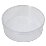 Round Polystyrene Boxes with lids
