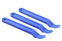 Spatole di plastica per facilitare la rimozione del nastro applicato di recente.
