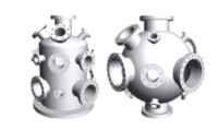 Need a vacuum chamber, but cannot use one of our standard offerings? Require additional or different ports? The Kurt J Lesker Company has used its extensive experience in making vacuum chambers and combined it with VacuCADSM, the online drawings package, to bring you the Chamber Builder™. This allows YOU to be in control of the design at a price that is right.