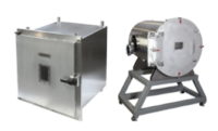 Developed from our experience of manufacturing chambers for our customers, our standard range of vacuum chambers now offers a variety of configurations and sizes to help fit the needs of our customer. Standard spherical chambers are held in stock, as are blank box chambers and hemispheres for modified versions. This allows for rapid delivery through our dedicated manufacturing cells. Most of our standard chambers can be modified on our online Chamber Builder™.