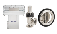 KJLC offers different valve types including: automated conductance control; rectangular and circular gate valves; and door, angle, inline and butterfly valves—many available in both stainless steel and aluminum materials.
