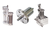 KJLC features multiple devices required for sample manipulation: motion feedthroughs, sample transfer, translation devices, XYZ manipulation, Z-only manipulation, sample rotation, rotary drives, linear drives, and wobble sticks, each helping to mechanically move an object inside a vacuum chamber.