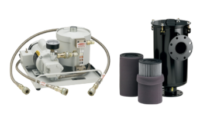The Vacuum Mart Division offers a full range of traps, filters, and abatement systems required to protect the vacuum chamber from vapors produced by the pumps.