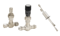 Modern vacuum processes require regulated gas flows, calibrated helium leaks, cooling water, liquid nitrogen, compressed air for pneumatic valve operations, and other considerations, our line carries all necessary valves, flow regulators, plastic tubing, and compressed air fittings.
