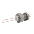 Passanti di potenza elettrica disponibili fino a 1500V e 25A, fino a 8 conduttori. Disponibili versioni flangiate, CF e KF e montate su piastra di base.