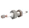 Passanti di potenza disponibili fino a 12.000V e 185A, fino a 12 conduttori. Disponibili versioni flangiate, CF, KF e montate su piastra di base.