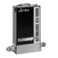 MKS 1179C è un mass flow controller per uso generale progettato per misurare e controllare il flusso di gas in un'ampia varietà di applicazioni.  I controller Mass-Flo® 1179C sono disponibili con intervalli di fondo scala da 10 sccm a 20 slm, fornendo un controllo del flusso rapido e ripetibile fino a 0,2 sccm. Può essere utilizzato anche come regolatore di pressione se collegato a un trasduttore di pressione adatto.