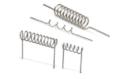 Filamenti di tungsteno arrotolati con numero variabile di fili.
