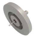 Passanti per strumentazione con connettività a bassa potenza SMB, fino a 375 V e 1,4 A, configurazioni single ended. Disponibili versioni flangiate a saldare, CF e KF.