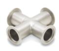 Le croci standard disponibili sono a 4, 5 e 6 vie, nonché versioni con riduttore a 4 vie per adattare due diverse dimensioni di flangia.