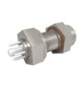 Passanti per strumentazione con connettività a 8 pin, fino a 700 V e 10 A, configurazioni a doppia estremità. Disponibile versione montata su piastra.