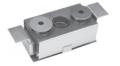 Le baffled box ricaricabili sono ideali per l'evaporazione termica del monossido di silicio e altri materiali soggetti a schizzi.