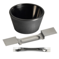 Evaporation sources for both thermal and e-beam evaporation. Boats, filaments, crucibles and heaters, and e-beam crucible liners. Available in various materials and configurations.